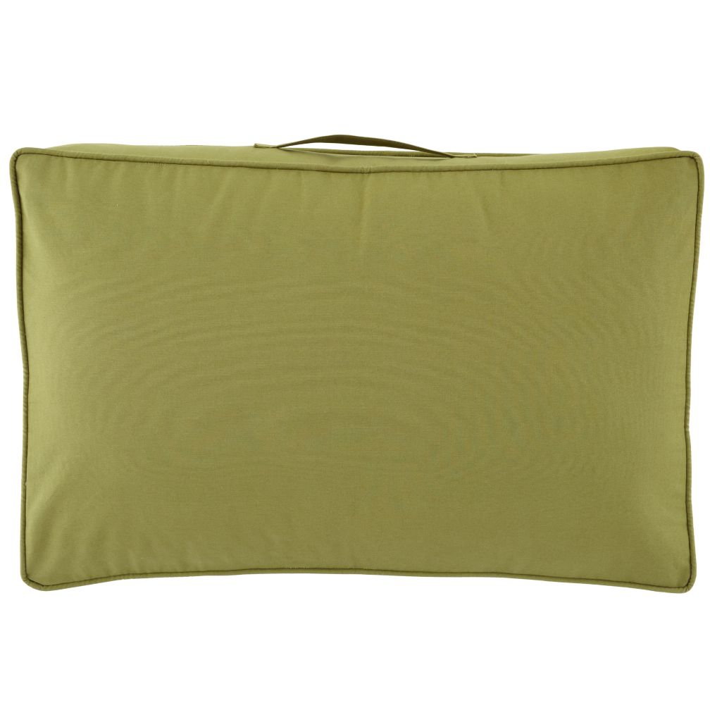 22&quot; Laying Low Cushion (Green)