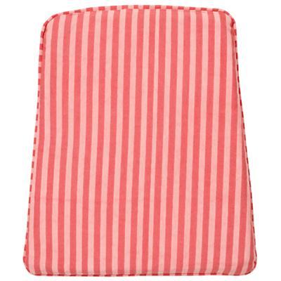 Pink Stripe Rocking Chair Cushion