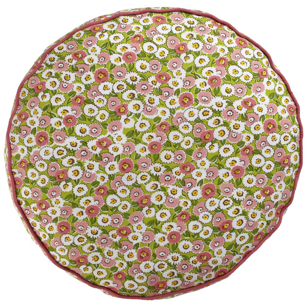 22&quot; Floral Stack Floor Cushion