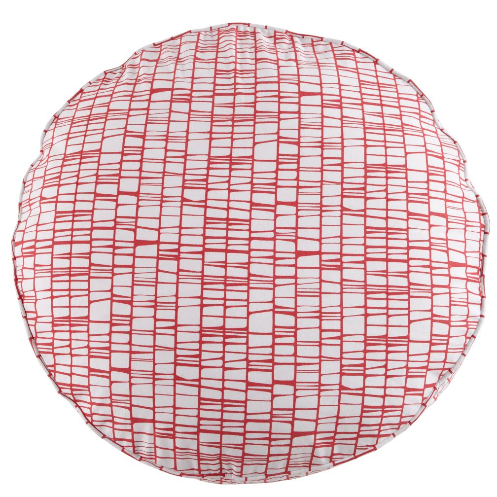 32&quot; Pink Modern Cushion