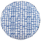 "27"" Blue Modern Cushion"