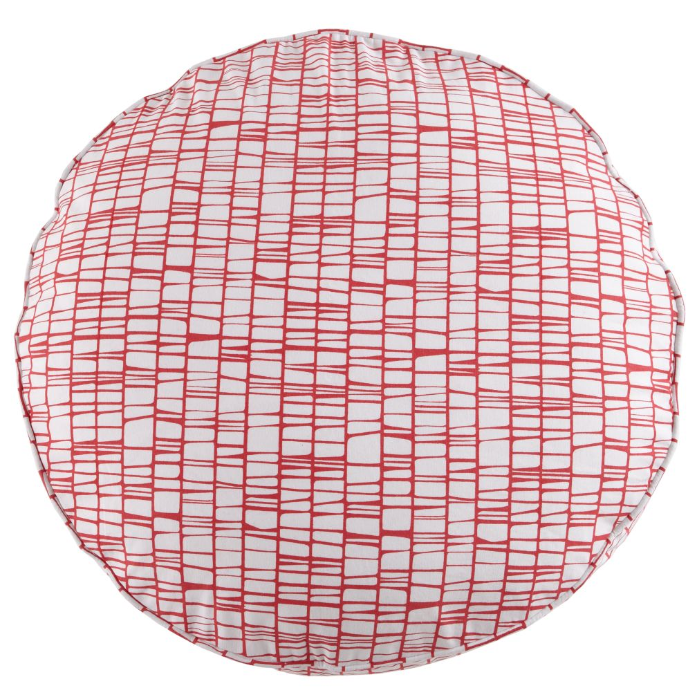 27&quot; Pink Modern Cushion