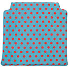 Teal Dot Storage Chair Cushion