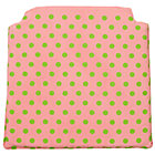 Pink Dot Storage Chair Cushion