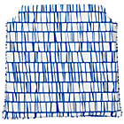 Blue Modern Storage Chair Cushion