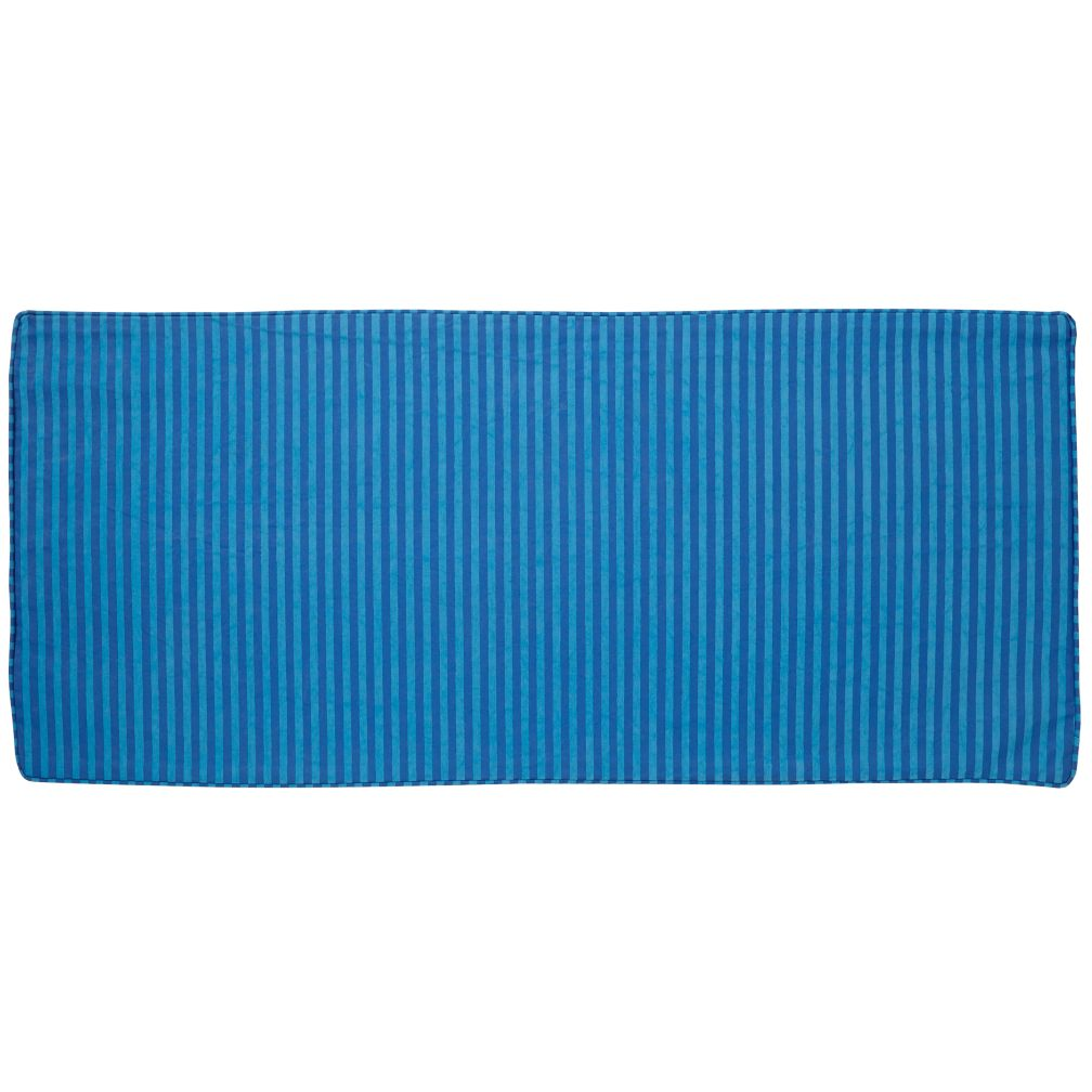 Toy Box Cushion (Blue Stripe)