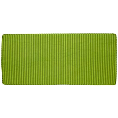 Toy Box Cushion (Green Stripe)