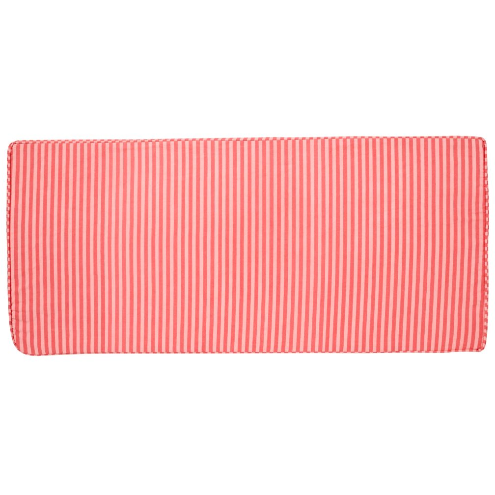 Toy Box Cushion (Pink Stripe)