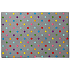 4 x 6&amp;#39; Grey Candy Dot Rug