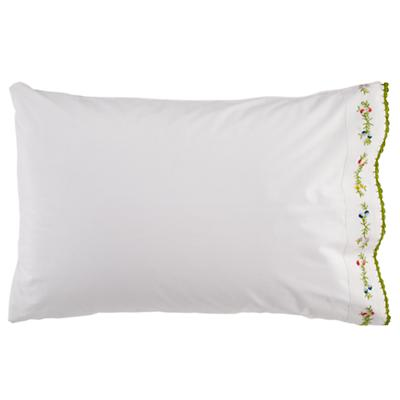 Petit Château Embroidered Pillowcase