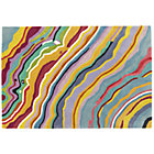 4x 6&amp;#39; Tectonic Wavy Rug
