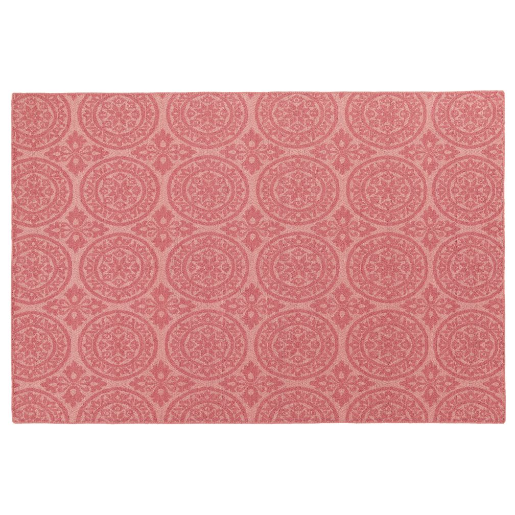 8 x 10' Heirloom Rug (Pink)