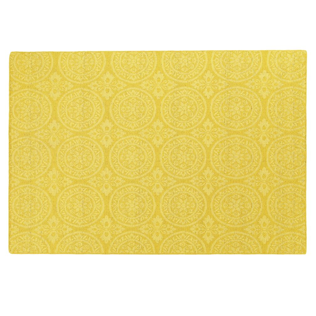 4 x 6'  Heirloom Rug (Yellow)