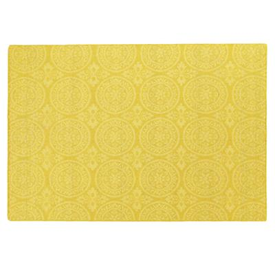 8 x 10'  Heirloom Rug (Yellow)