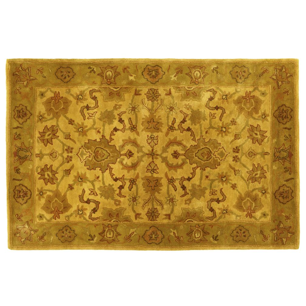 4 x 6'  Royal Treatment Rug (Yellow)
