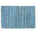 5 x 8' Blue Rags to Riches Rug