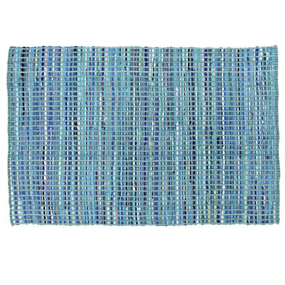 Rags to Riches Rug (Blue)