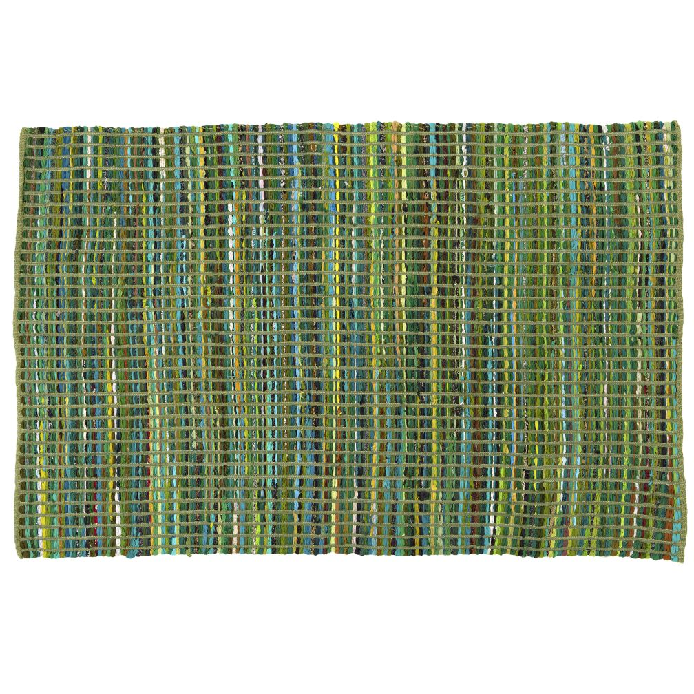 4 x 6&#39; Rags to Riches Rug (Green)