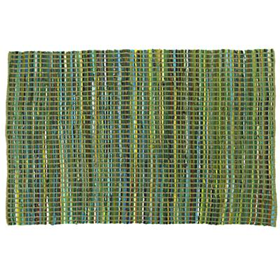 Rags to Riches Rug (Green)