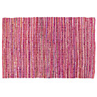 4 x 6&amp;#39; Pink Rags to Riches Rug
