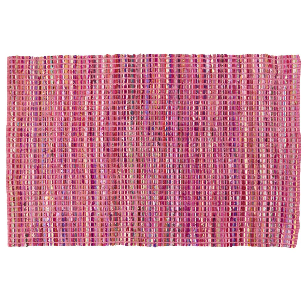 4 x 6&#39; Rags to Riches Rug (Pink)