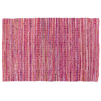 Rags to Riches Rug (Pink)