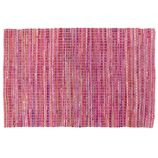 8 x 10' Rags to Riches Rug (Pink)