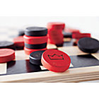 Chunky Checkers Wooden Game Set