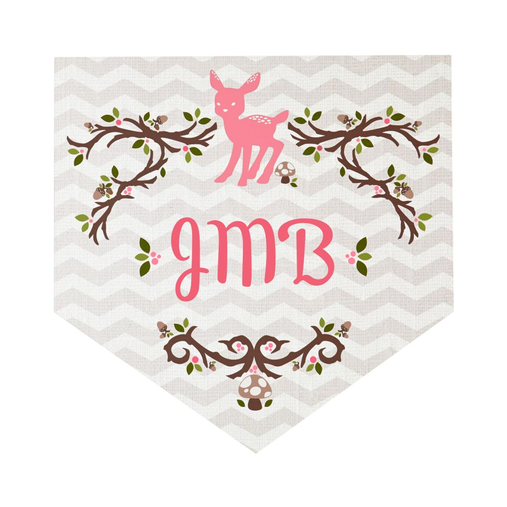 Fable Monogram Wall Decals (Deer)