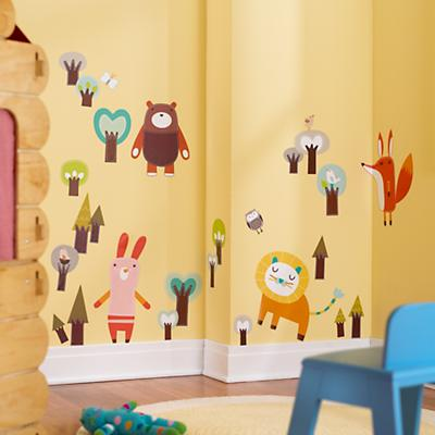 Wall of the Wild Wall Decals