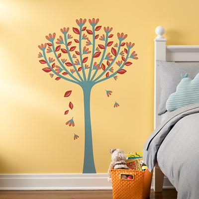 The Leaves They Are A-Changin' Wall Decal