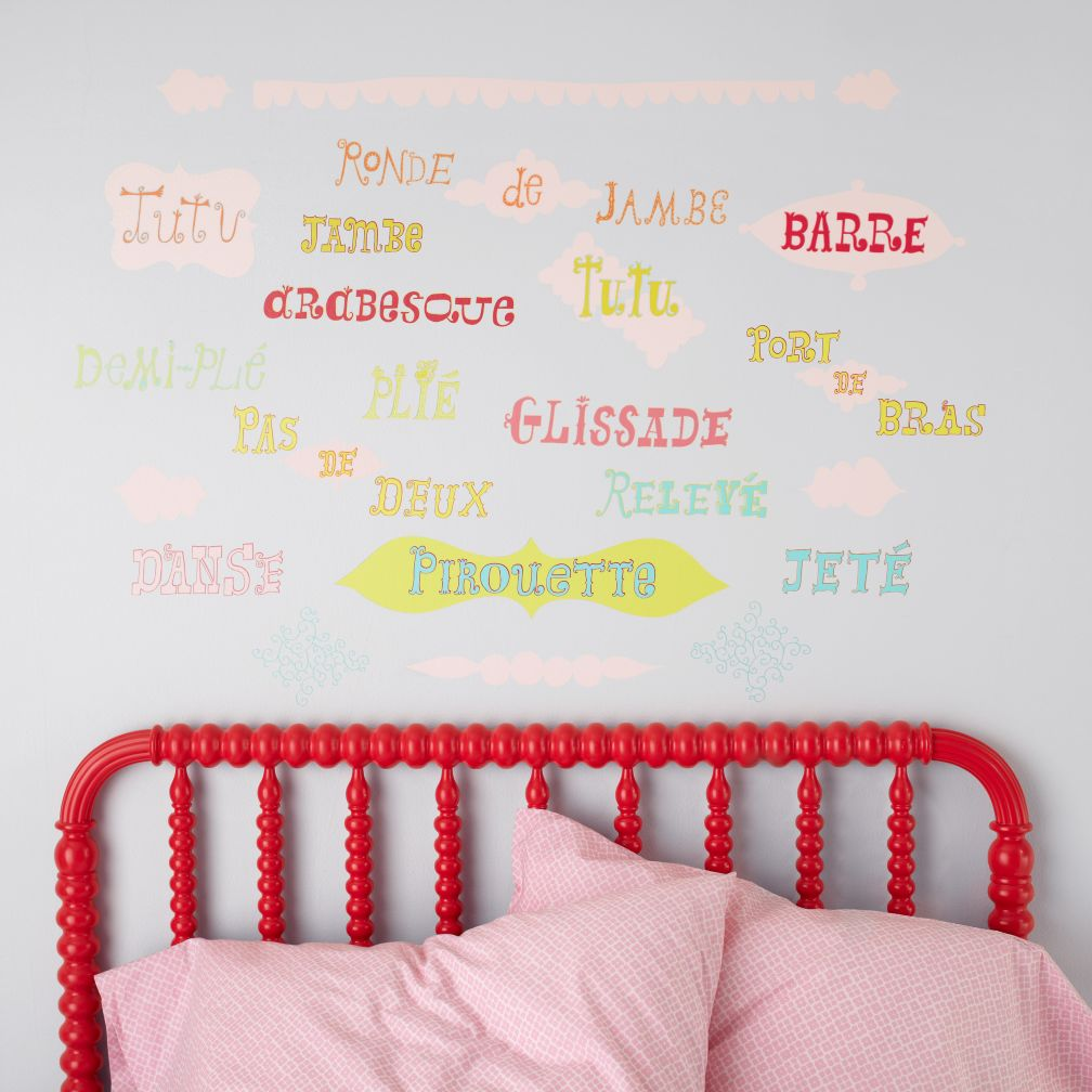 May I Please Plié Ballet Wall Decals
