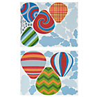 Balloon Race Boy Wall Decal