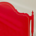 Red Queen Olivia Headboard Decal