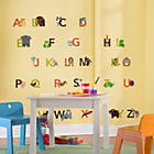 Alphabetized Animal Wall  DecalsSet of 26