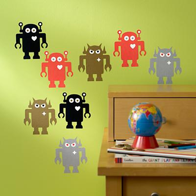 Giant Robot Decals (Set of 8)