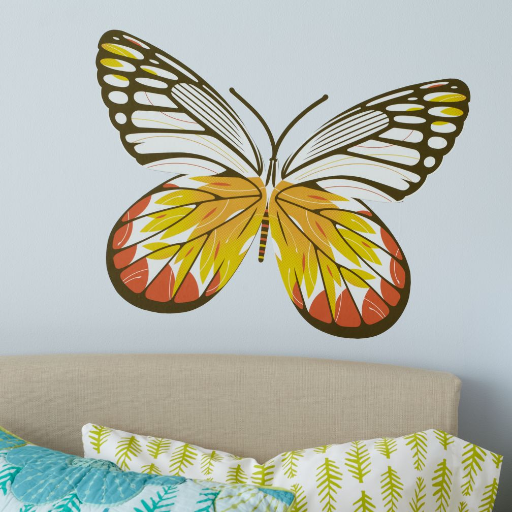 Fig. 1 Butterfly Decals (White Delia)