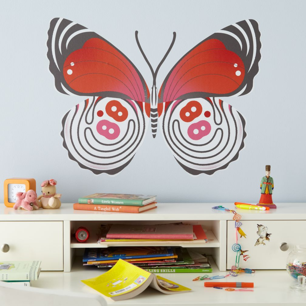 Eight-eight Butterfly Decal