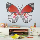 Fig. 1 Butterfly Decal (Eight-Eight)