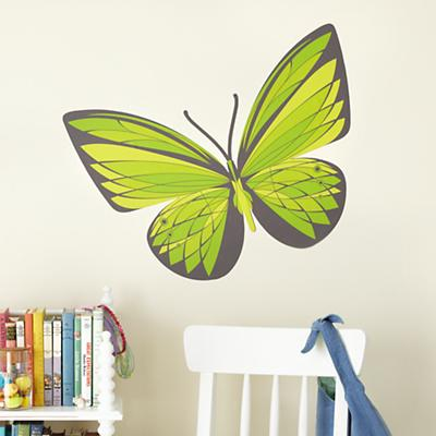 Emerald Butterfly Decal