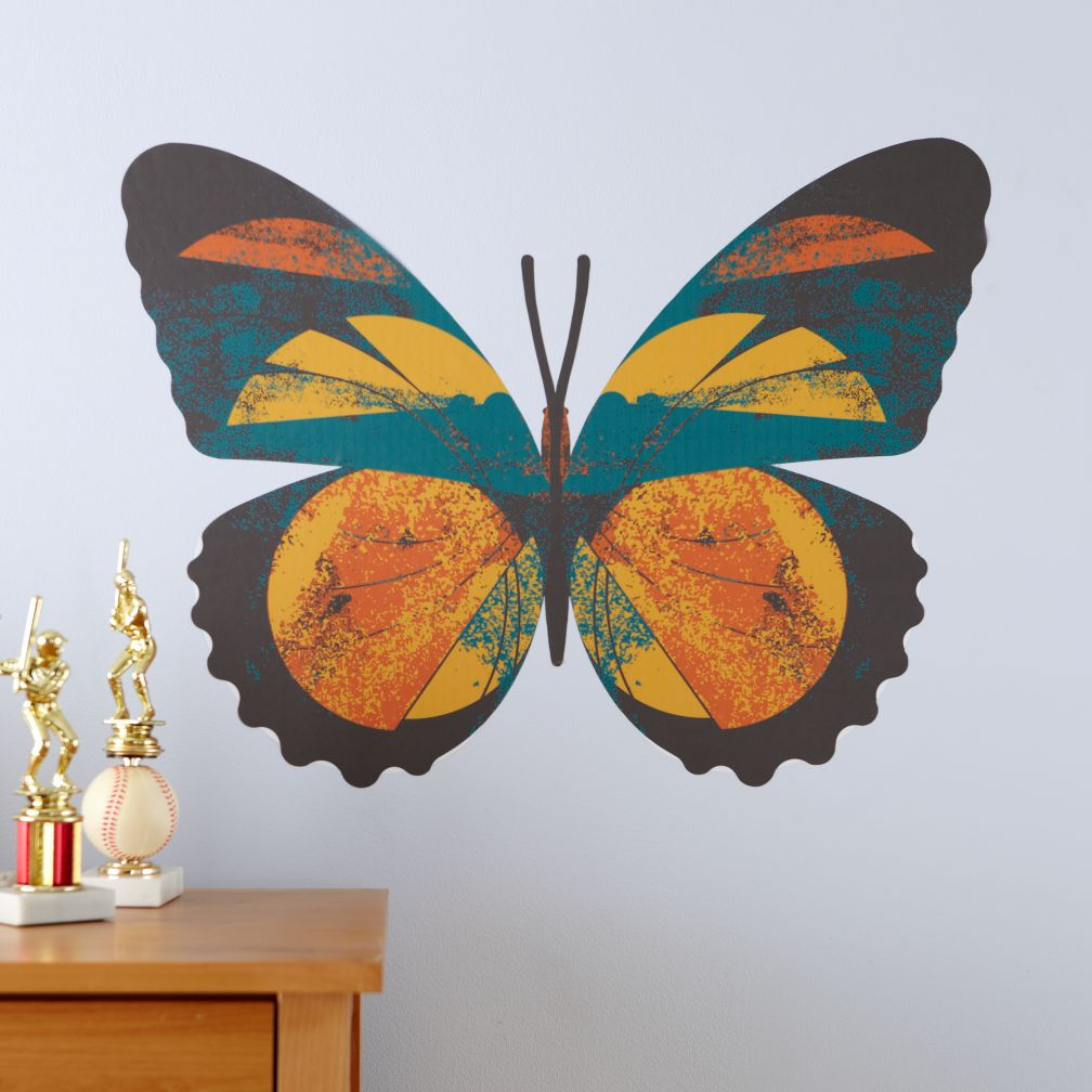 Fig. 1 Butterfly Decals (Forester)