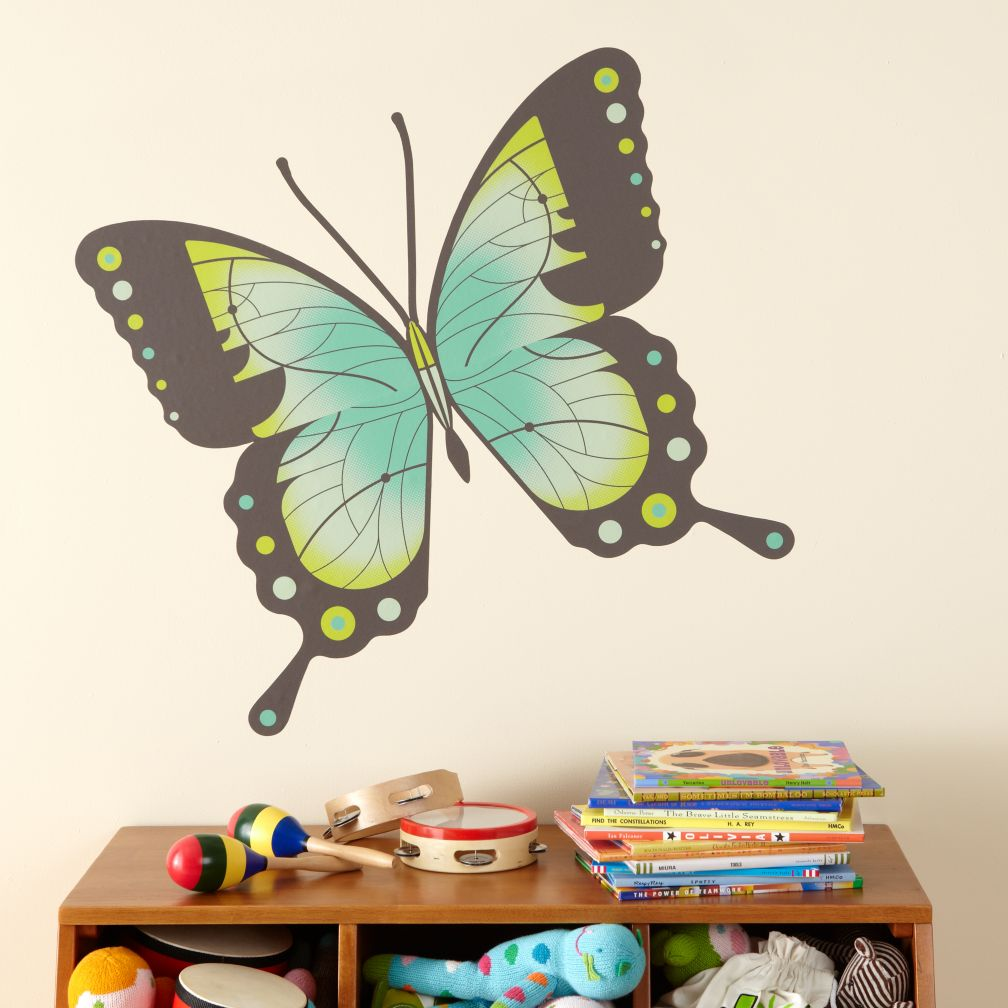 Fig. 1 Butterfly Decals (Swallowtail)