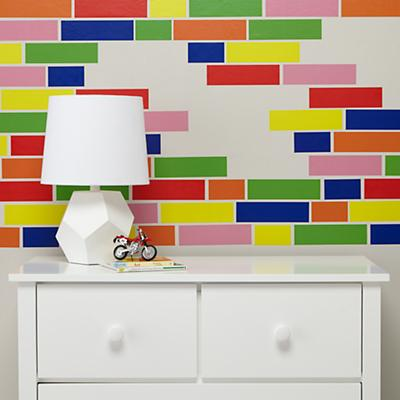 Color Brick Decal