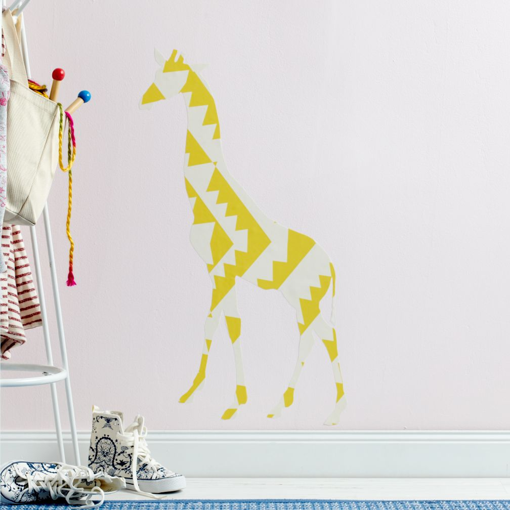 Small Giraffe Flashy Decal