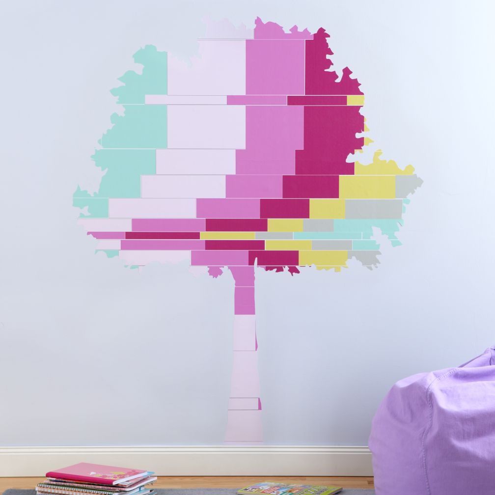 Tree Flashy Forest Wall Decal