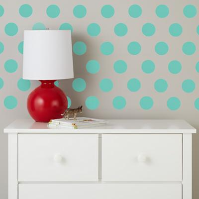 Lottie Dots Decal (Aqua)