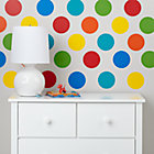 Multi Color Polka Decal Set