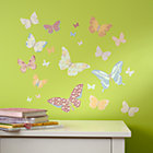 Fabric Butterfly Decals