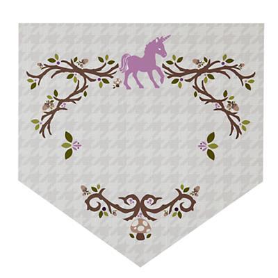 Fable Monogram Wall Decal (Unicorn)