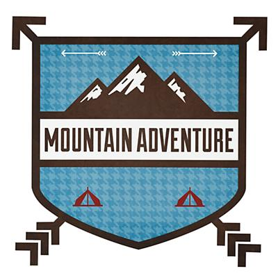 Adventure Monogram Decal (Mountain)